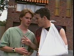 Brett Stark, Stonie Rebecchi in Neighbours Episode 2307