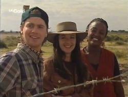 Brett Stark, Susan Kennedy, Rachel in Neighbours Episode 2527