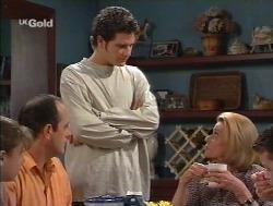 Hannah Martin, Philip Martin, Luke Handley, Helen Daniels, Michael Martin in Neighbours Episode 2527