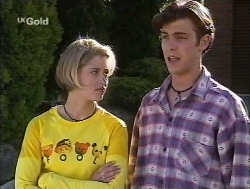 Danni Stark, Malcolm Kennedy in Neighbours Episode 2527