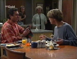 Karl Kennedy, Libby Kennedy, Cheryl Stark, Billy Kennedy in Neighbours Episode 2529
