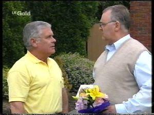 Lou Carpenter, Harold Bishop in Neighbours Episode 2755