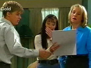 Billy Kennedy, Susan Kennedy, Ruth Wilkinson in Neighbours Episode 2922