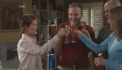 Susan Kennedy, Karl Kennedy, Steve Parker, Miranda Parker in Neighbours Episode 5606