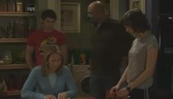 Miranda Parker, Declan Napier, Steve Parker, Bridget Parker in Neighbours Episode 5607