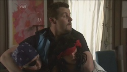 Callum Jones, Toadie Rebecchi, Mickey Gannon in Neighbours Episode 5608