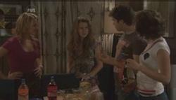 Donna Freedman, Tegan Freedman, Declan Napier, Bridget Parker in Neighbours Episode 5609