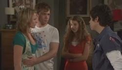 Donna Freedman, Ringo Brown, Tegan Freedman, Simon Freedman in Neighbours Episode 5609