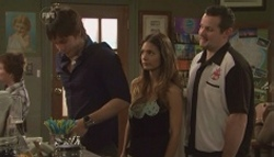 Ty Harper, Rachel Kinski, Toadie Rebecchi in Neighbours Episode 5610