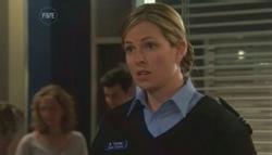 Senior Sergeant Elise Caskey in Neighbours Episode 5610