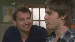 Lucas Fitzgerald, Ty Harper in Neighbours Episode 5613