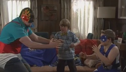 Toadie Rebecchi, Mickey Gannon, Callum Jones in Neighbours Episode 5614