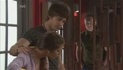 Rachel Kinski, Ty Harper, Karl Kennedy in Neighbours Episode 5621