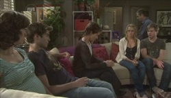Bridget Parker, Declan Napier, Susan Kennedy, Donna Freedman, Karl Kennedy, Ringo Brown in Neighbours Episode 5623