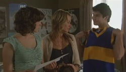 Bridget Parker, Donna Freedman, Declan Napier in Neighbours Episode 5623