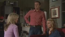 Samantha Fitzgerald, Paul Robinson, Donna Freedman in Neighbours Episode 5624