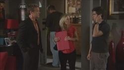 Paul Robinson, Samantha Fitzgerald, Simon Freedman in Neighbours Episode 5628