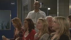 Miranda Parker, Rebecca Napier, Steve Parker, Donna Freedman, Lou Carpenter, Steph Scully in Neighbours Episode 5628
