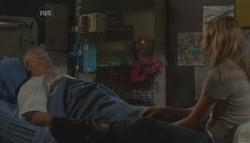 Harold Bishop, Donna Freedman in Neighbours Episode 5628
