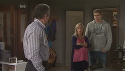 Karl Kennedy, Samantha Fitzgerald, Dan Fitzgerald in Neighbours Episode 5629