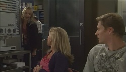 Steph Scully, Samantha Fitzgerald, Dan Fitzgerald in Neighbours Episode 5629