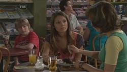Mickey Gannon, Rachel Kinski, Bridget Parker in Neighbours Episode 5630