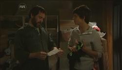 Phil Andrews, Zeke Kinski in Neighbours Episode 5631