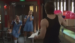 Rachel Kinski, Donna Freedman, Ty Harper in Neighbours Episode 5631
