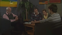 Dr Jeremy Levi, Karl Kennedy, Susan Kennedy, Zeke Kinski in Neighbours Episode 5632