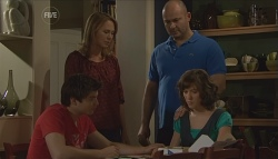 Declan Napier, Miranda Parker, Steve Parker, Bridget Parker in Neighbours Episode 5633
