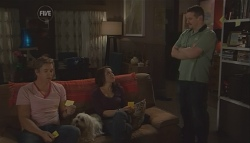 Dan Fitzgerald, Libby Kennedy, Toadie Rebecchi in Neighbours Episode 5633