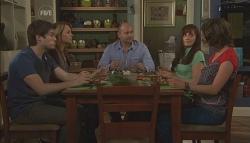 Declan Napier, Miranda Parker, Steve Parker, Joanna Hale, Bridget Parker in Neighbours Episode 5634