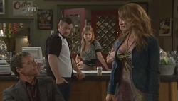 Paul Robinson, Toadie Rebecchi, Elle Robinson, Cassandra Freedman in Neighbours Episode 5635