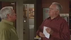 Lou Carpenter, Harold Bishop in Neighbours Episode 5635