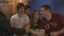 "Ian ""Dicko"" Dickson, Ty Harper, Zeke Kinski, Rachel Kinski, Toadie Rebecchi in Neighbours Episode 5636"