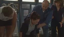 Dan Fitzgerald, Libby Kennedy, Steve Parker, Bridget Parker in Neighbours Episode 5636