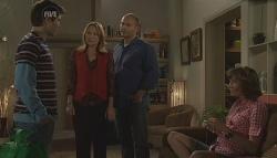 Declan Napier, Miranda Parker, Steve Parker, Bridget Parker in Neighbours Episode 5636