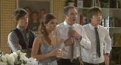 Zeke Kinski, Rachel Kinski, Karl Kennedy, Ty Harper in Neighbours Episode 5637