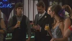 Zeke Kinski, Lucas Fitzgerald, Rachel Kinski in Neighbours Episode 5638