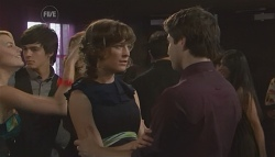 Donna Freedman, Zeke Kinski, Bridget Parker, Declan Napier in Neighbours Episode 5638
