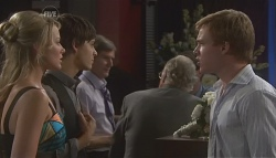 Donna Freedman, Zeke Kinski, Ringo Brown in Neighbours Episode 5640