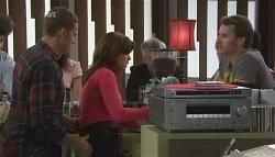 Andrew Simpson, Rebecca Napier, Lucas Fitzgerald in Neighbours Episode 5641