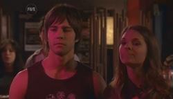 Ty Harper, Rachel Kinski in Neighbours Episode 5642