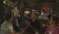 Karl Kennedy, Lucas Fitzgerald, Steve Parker, Susan Kennedy in Neighbours Episode 5642