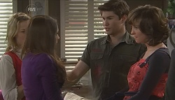 Donna Freedman, Rachel Kinski, Declan Napier, Bridget Parker in Neighbours Episode 5643
