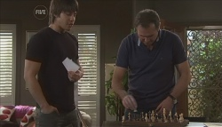Ty Harper, Karl Kennedy in Neighbours Episode 5644