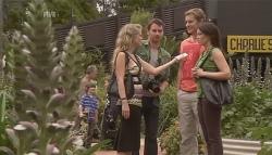 Elle Robinson, Lucas Fitzgerald, Dan Fitzgerald, Libby Kennedy in Neighbours Episode 5644