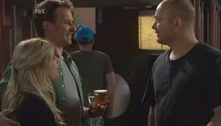 Elle Robinson, Lucas Fitzgerald, Steve Parker in Neighbours Episode 5644