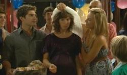 Declan Napier, Bridget Parker, Donna Freedman in Neighbours Episode 5681