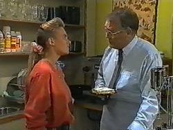 Bronwyn Davies, Harold Bishop in Neighbours Episode 0961